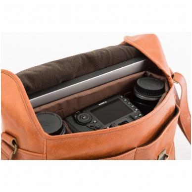 Zuka Straps Messenger Leather Camera Bag 8