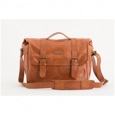 Zuka Straps Messenger Leather Camera Bag 2