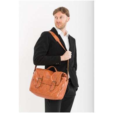 Zuka Straps Messenger Leather Camera Bag 3