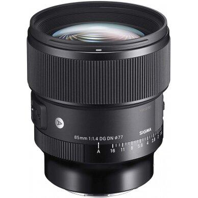 Sigma 85mm f1.4 DG HSM Art   Sony E
