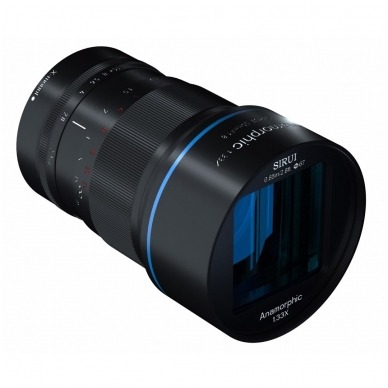 Sirui Anamorphic Lens 1.33x 50mm f1.8 2