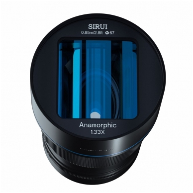 Sirui Anamorphic Lens 1.33x 50mm f1.8 3
