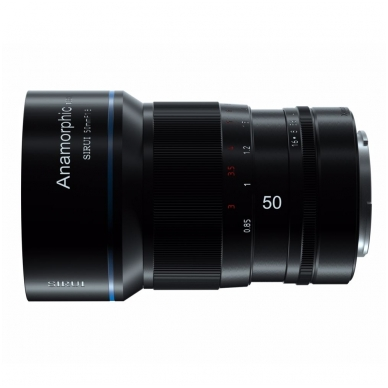 Sirui Anamorphic Lens 1.33x 50mm f1.8 4