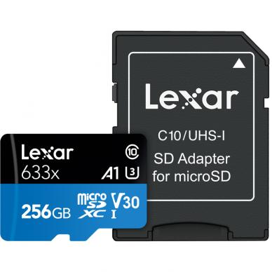 Lexar microSDHC/SDXC 633x 95mb/s 5