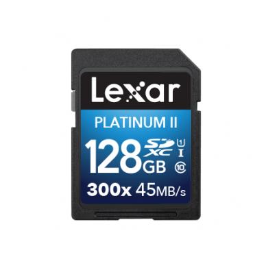 Lexar SDHC/XC 300X Premium II 4