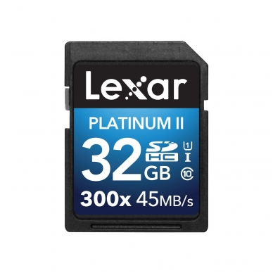 Lexar SDHC/XC 300X Premium II 5