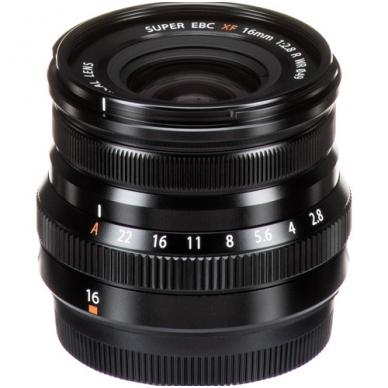 Fujinon XF 16mm f2.8 R WR 3