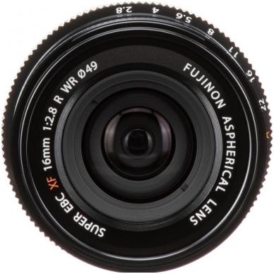 Fujinon XF 16mm f2.8 R WR 5
