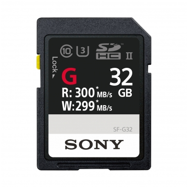 SONY SDHC/XC G Series UHS-III U3 300mb/s