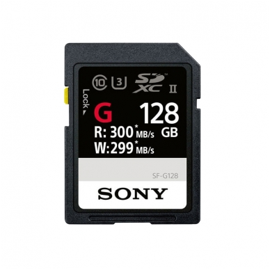SONY SDHC/XC G Series UHS-III U3 300mb/s 5