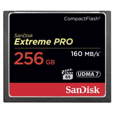 SanDisk CompactFlash Extreme Pro CF 160MB/s 7