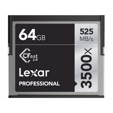 Lexar Pro 3500X Cfast