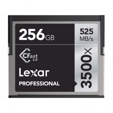 Lexar Pro 3500X Cfast 4