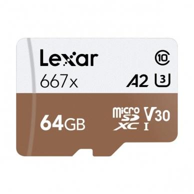 Lexar PRO 667X microSDXC UHS-I A2