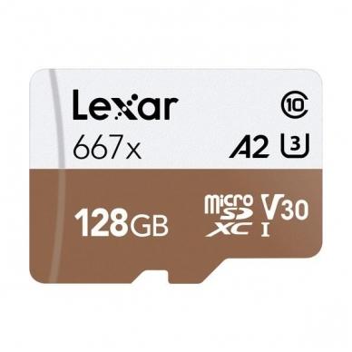 Lexar PRO 667X microSDXC UHS-I A2 3