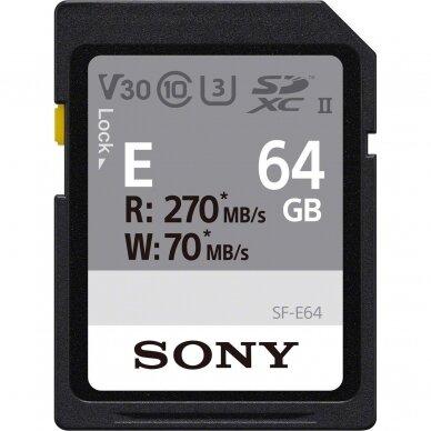 SONY SDXC E Series UHS-II U3