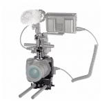 SmallRig 2067 HALF CAGE Kit w/ Batt. Grip