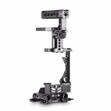 SmallRig 2067 HALF CAGE Kit w/ Batt. Grip 5