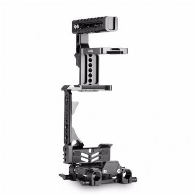 SmallRig 2067 HALF CAGE Kit w/ Batt. Grip 6