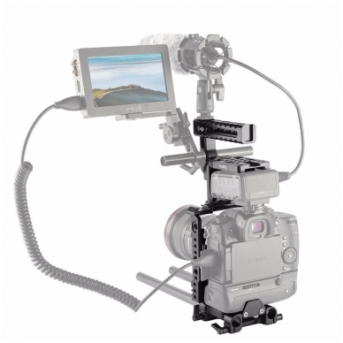 SmallRig 2067 HALF CAGE Kit w/ Batt. Grip 3