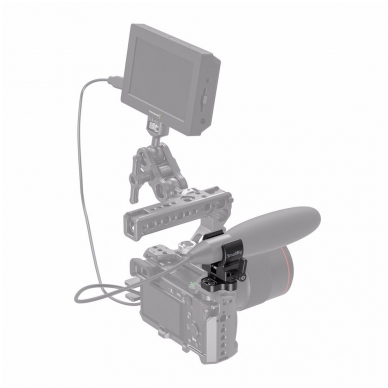 SmallRig 2489 Shotgun Microphone Holder 5