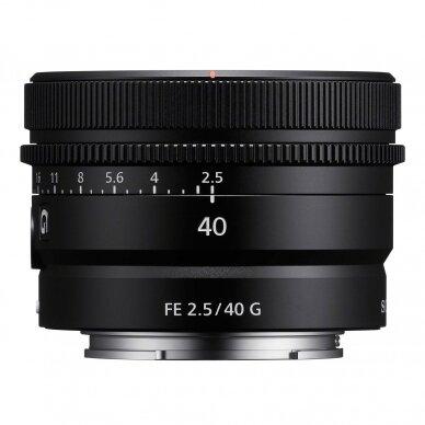Sony 40mm f2.5 G 2