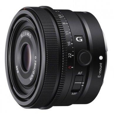 Sony 40mm f2.5 G