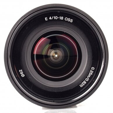 Sony E 10-18mm f4 OSS 3