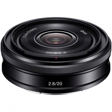 Sony E 20mm f2.8 3