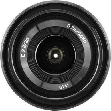 Sony E 20mm f2.8 2