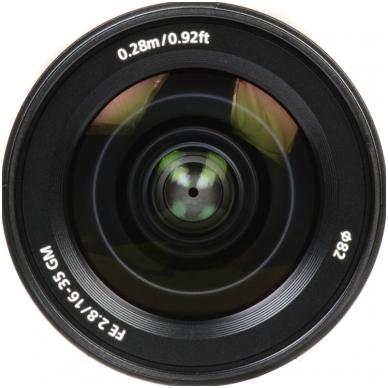 Sony FE 16-35mm f2.8 GM 4