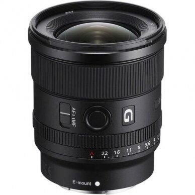 Sony FE 20mm f1.8 G 2