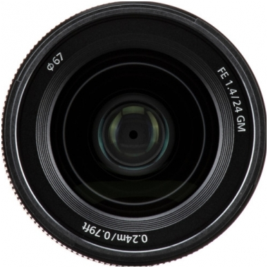 Sony FE 24mm f1.4 GM 4