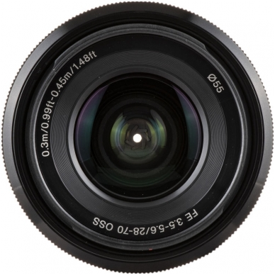 Sony FE 28-70mm f3.5-5.6 OSS 3