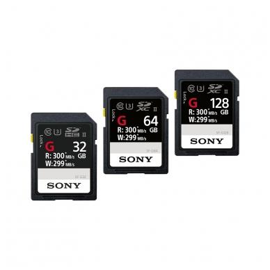 SONY SDHC/XC G Series UHS-III U3 300mb/s 2