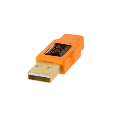 TetherPro USB 2.0 to Mini-B 8-Pin kabelis 2