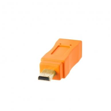 TetherPro USB 2.0 to Mini-B 8-Pin kabelis 3