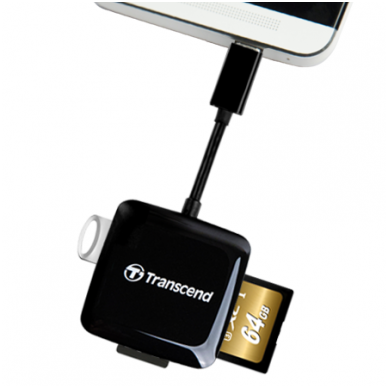 Transcend Cardreader RDP9 - OTG 4