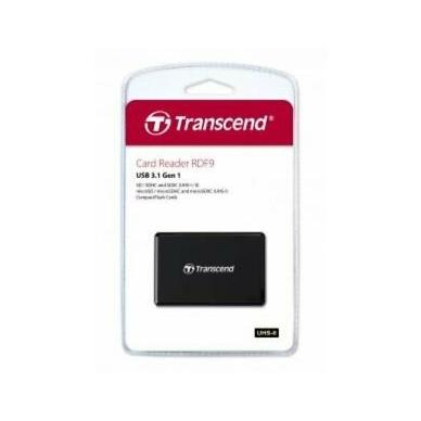 Transcend RDF9 - All in One USB 3.1 kortelių skaitytuvas 4