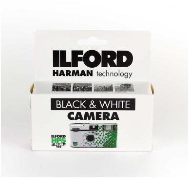 Vienkartinis fotoaparatas Ilford HP5 Plus (27 kadrai) 2