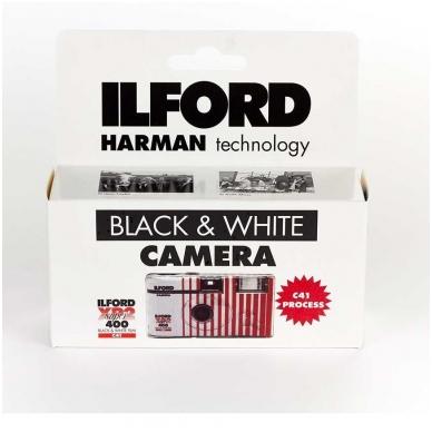Vienkartinis fotoaparatas Ilford XP2 Super (27 kadrai) 2