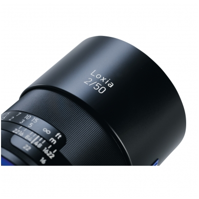 Zeiss Loxia 50mm f2.0 4