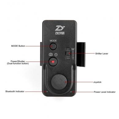ZHIYUN Bluetooth Wireless ZW-B02 pultelis 3