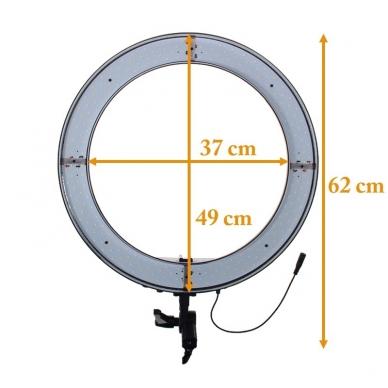 Žiedinis šviestuvas LED 50W Ring Light 3200-5500K