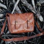 Zuka Straps Messenger Leather Camera Bag