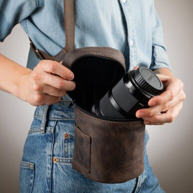 Zuka Straps Leather Lens Pouch 4